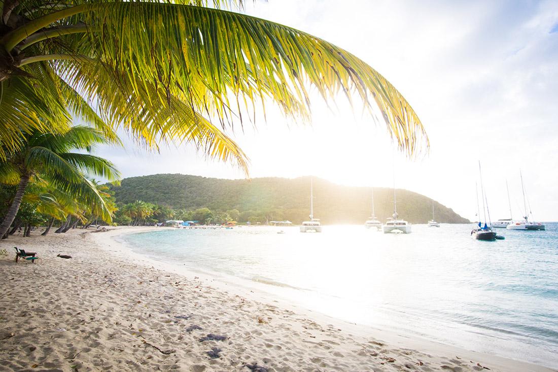 Sonnenuntergang in den Grenadinen