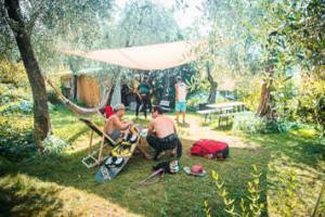 das kitecenter am Gardasee wird von anfängern und fortgeschrittenen besucht